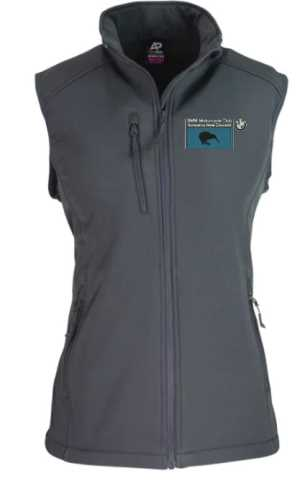 BMW Motorcycle Club Ladies Vest Slate